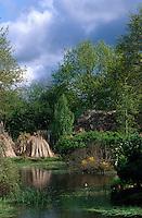 Europe/France/Pays de la Loire/44/Loire-Atlantique/Parc Naturel Régional de Brière/Herbignac/Hoscas: Les jardins des marais