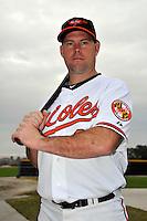 Feb 27, 2010; Tampa, FL, USA; Baltimore Orioles  infielder Ty Wigginton (23) during  photoday at Ed Smith Stadium. Mandatory Credit: Tomasso De Rosa