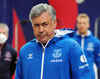 Football - 2020 / 2021 Premier League - Crystal Palace vs Everton Everton Manager,Carlo Ancelotti at Selhurst Park COLORTSPORT/ANDREW COWIE PUBLICATIONxNOTxINxUK <br /> Photo Imago/Insidefoto <br /> ITALY ONLY
