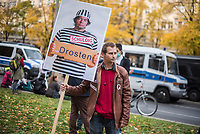 2020/10/25 Politik | Berlin | Demonstration | Coronaleugner