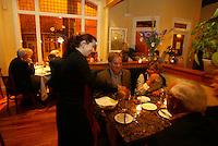 Dinner at Fleurie Charlottesville, Va. Credit Image: © Andrew Shurtleff