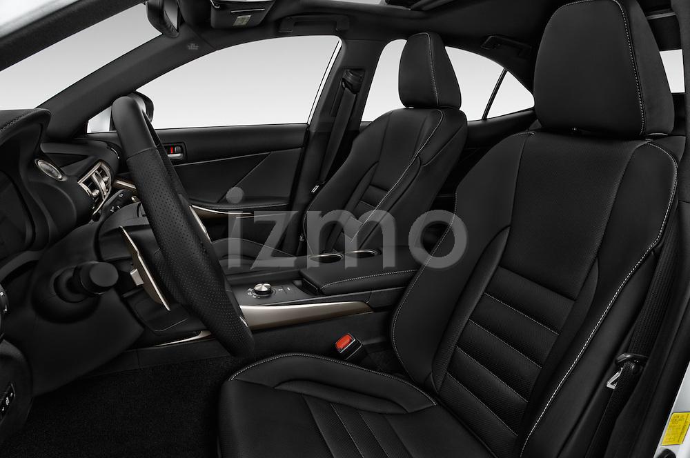 Front seat view of 2016 Lexus IS F Sport Line 4 Door Sedan Front Seat  car photos