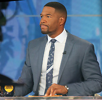 NEW YORK, NY - MAY 3: Michael Strahan on the set of Good Morning America in New York City on May 03, 2021. Credit: RW/MediaPunch
