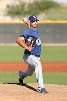 Geison Aguasviva - Los Angeles Dodgers, 2009 Instructional League.Photo by:  Bill Mitchell/Four Seam Images..