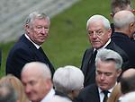 Sir Alex Ferguson and Walter Smith