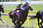 Gallentos with Garrett Gomez in the 5th race at Keeneland Race Course. 04.10.2010