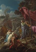 Full title: The Brazen Serpent<br /> Artist: Corrado Giaquinto<br /> Date made: 1743-4
