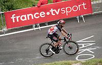 Thomas De Gendt (BEL/Lotto Soudal) up Luz Ardiden<br /> <br /> Stage 18 from Pau to Luz Ardiden (130km)<br /> 108th Tour de France 2021 (2.UWT)<br /> <br /> ©kramon