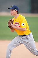 January 17, 2010:  Jacob Bell (Ridgecrest, CA) of the Baseball Factory California Team during the 2010 Under Armour Pre-Season All-America Tournament at Kino Sports Complex in Tucson, AZ.  Photo By Mike Janes/Four Seam Images