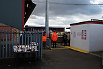 Dagenham and Redbridge 1 Burton Albion 3, 21/02/2015. Victoria Road, League Two. Condiments for the snack bar. Burton Albion moved to the top of League Two following a hard-fought win over Dagenham & Redbridge played in-front of 1,718 supporters. Photo by Simon Gill.