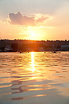 Seattle, Rowing, Seattle Rowing Center scullers Lake Washington Ship Canal, Lake Union, dawn rowing workout, single sculls, Ballard, neighborhood,