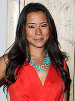 SANTA MONICA, CA, USA - MAY 16: Angela Sun at the Nautica And LA Confidential's Oceana Beach House Party held at the Marion Davies Guest House on May 16, 2014 in Santa Monica, California, United States. (Photo by Xavier Collin/Celebrity Monitor)