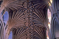 Norwich: Norwich Cathedral--Vaulting. Photo '90.