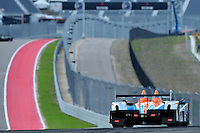 September 19, 2013: <br /> <br /> Rusty Mitchell / Tomy Drissi driving #7 PC ORECA FLM09 during International Sports Car Weekend test and setup day in Austin, TX.