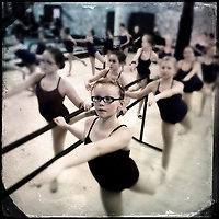 Young dancers practice for recital at Generations Performing Arts in Uptown Westerville.
