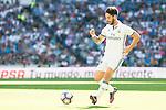 "Real Madrid's player Francisco Roman ""Isco"" during a match of La Liga Santander at Santiago Bernabeu Stadium in Madrid. October 02, Spain. 2016. (ALTERPHOTOS/BorjaB.Hojas)"