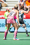 Amsterdam, The Netherlands, June 29: During the women fieldhockey bronze medal match between Germany and Argentina at the FIH Pro League Grand Final on June 29, 2019 at Wagener Stadium in Amsterdam, The Netherlands. Final score 3-1 SO (FT 1-1). (Photo by Dirk Markgraf / www.265-images.com) ***