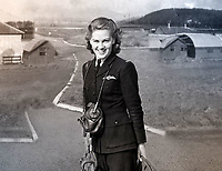 BNPS.co.uk (01202 558833)<br /> Pic: SecretSpitfires/BNPS<br /> <br /> ATA girl Joy Lofthouse flew the completed Spitfires off to their squadrons - amazingly 10 per cent of the wartime population of Salisbury signed the official secrets act and worked on the top secret project.<br /> <br /> A campaign to build a memorial to honour the women and children who built over 2,000 Spitfires in secret to help win the Second World War has been launched.<br /> <br /> The little-known operation involved just a few hundred people who operated in requisitioned car garages, factories and workshops in the city of Salisbury.<br />  <br /> They built the legendary aircraft in piecemeal and worked with such discretion that the Wiltshire city's inhabitants were oblivious to it. <br /> <br /> The unsung workers were so prolific they accounted for one tenth of all Spitfires produced during the war.