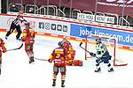 Eishockey DEL 37. Spieltag: Düsseldorfer EG vs <br /> ERC Ingolstadt am 07.04.2021 im ISS Dome in Düsseldorf<br /> <br /> Ingolstadts Mirko Höfflin (Nr.10) dreht jubelnd ab nach dem 1:2<br /> <br /> Foto © PIX-Sportfotos *** Foto ist honorarpflichtig! *** Auf Anfrage in hoeherer Qualitaet/Aufloesung. Belegexemplar erbeten. Veroeffentlichung ausschliesslich fuer journalistisch-publizistische Zwecke. For editorial use only.