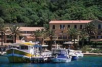 Europe/Provence-Alpes-Côte d'Azur/83/Var/Iles d'Hyères/Ile de Port-Cros: Le village et le port