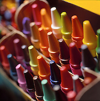 Box of crayons.