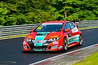 Race of Germany Nürburgring Nordschleife 2016 Free training 2 ETCC 2016 #112 Rikli Motorsport Honda Civic Peter Rikli (CHE) © 2016 Musson/PSP. All Rights Reserved.