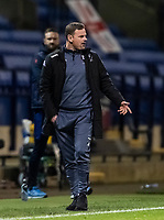 Salford City's manager Richie Wellens gestures<br /> <br /> Photographer Andrew Kearns/CameraSport<br /> <br /> The EFL Sky Bet League Two - Bolton Wanderers v Salford City - Friday 13th November 2020 - University of Bolton Stadium - Bolton<br /> <br /> World Copyright © 2020 CameraSport. All rights reserved. 43 Linden Ave. Countesthorpe. Leicester. England. LE8 5PG - Tel: +44 (0) 116 277 4147 - admin@camerasport.com - www.camerasport.com