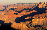 USA, Arizona, Grand Canyon National Park. View of canyon at sunrise from Lipan Point