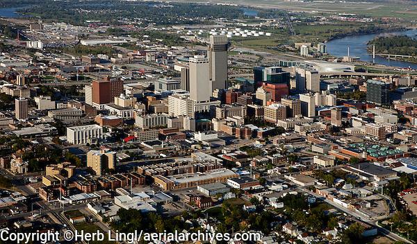 aerial photograph Omaha, Nebraska