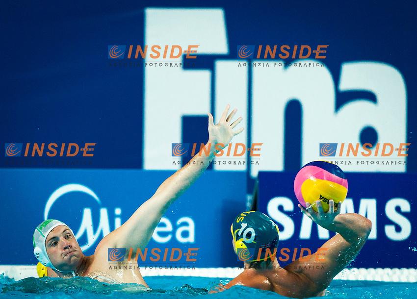 RSA - AUS<br /> South Africa Vs Australia<br /> Referee<br /> Day 10 02/08/2015<br /> XVI FINA World Championships Aquatics<br /> Waterpolo<br /> Kazan Tatarstan RUS July 24 - Aug. 9 2015 <br /> Photo Pasquale Mesiano/Deepbluemedia/Insidefoto