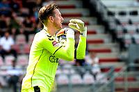 EMMEN - Voetbal, FC Emmen - Heracles Almelo , voorbereiding seizoen 2021-2022, 25-07-2021,  FC Emmen keeper Michael Brouwer