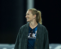 FOXBOROUGH, MA - SEPTEMBER 29: Samantha Mewis of USWNT during a game between New York City FC and New England Revolution at Gillette Stadium on September 29, 2019 in Foxborough, Massachusetts.