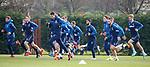 01.03.2019: Rangers training: Rangers squad