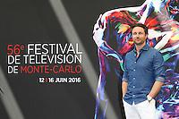 FTV DE MONTE-CARLO - PHOTOCALL 'GREY'S ANATOMY' AVEC MARTIN HENDERSON