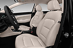 Front seat view of a 2018 Hyundai Elantra ECO 4 Door Sedan front seat car photos