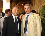 ANTONIO D'ALI'<br /> INAUGURAZIONE NUOVA SEDE DELLA BIBLIOTECA DEL SENATO -<br /> PIAZZA DELLA MINERVA ROMA 2003