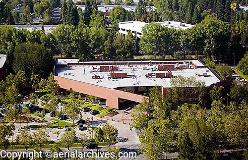 aerial photograph 2011 Stierlin Court, Mountain View,Santa Clara county, California