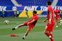 Harrison, NJ - Friday July 07, 2017: Samuel Piette during a 2017 CONCACAF Gold Cup Group A match between the men's national teams of French Guiana (GUF) and Canada (CAN) at Red Bull Arena.