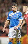 Aberdeen v St Johnstone…22.09.16.. Pittodrie..  Betfred Cup<br />Michael Coulson<br />Picture by Graeme Hart.<br />Copyright Perthshire Picture Agency<br />Tel: 01738 623350  Mobile: 07990 594431