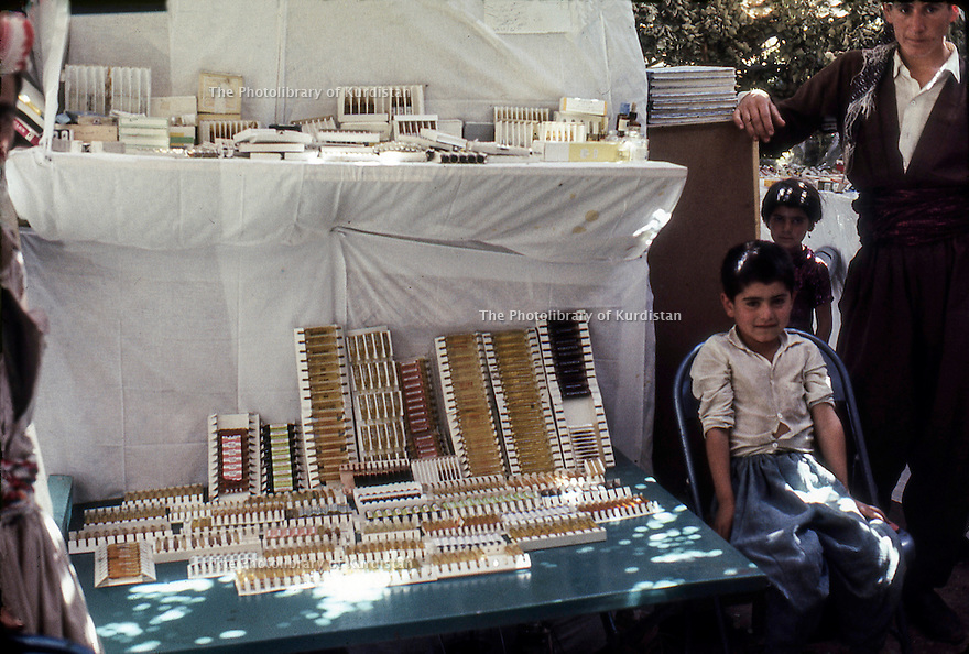 Iraq 1968 <br /> Medicines in a dispensary organized by the peshmergas  <br /> Irak 1968 <br /> Medicaments dans un dispensaire mis en place par les peshmergas dans un village