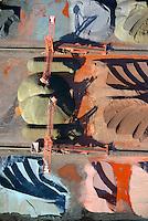 Hansaport im Hafen Hamburg: EUROPA, DEUTSCHLAND, HAMBURG, (EUROPE, GERMANY), 23.02.2014 Hansaport im Hafen Hamburg, Lagerung und Transport von Erz und Kohle.