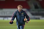 Munster backs coach Simon Mannix.<br /> Celtic League<br /> Scarlets v Munster<br /> <br /> 01.03.14<br /> <br /> ©Steve Pope-SPORTINGWALES