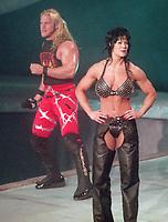 Chris Jericho Chyna 1998                                                   Photo By John Barrett/PHOTOlink