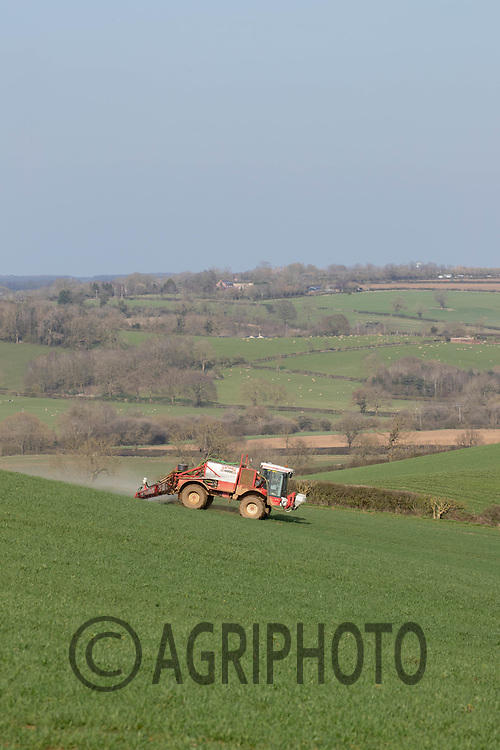 30-3-2021 T0 Spraying in Rutland <br /> ©Tim Scrivener Photographer 07850 303986<br />      ....Covering Agriculture In The UK....