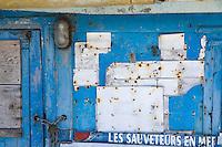Europe/France/2A/Corse du Sud/Propriano: Détail  ancien cabanon de pcheur