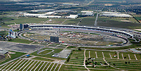 aerial photograph of the Texas Motor Speedway, Fort Worth, Texas