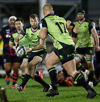 20th December 2020; The Sportsground, Galway, Connacht, Ireland; European Champions Cup Rugby, Connacht versus Bristol Bears; Jack Carty looks to play the ball away for Connacht