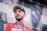 Jelle Vanendert (BEL/Lotto-Soudal) finished 3rd<br /> <br /> 82nd Flèche Wallonne 2018 (1.UWT)<br /> 1 Day Race: Seraing - Huy (198km)