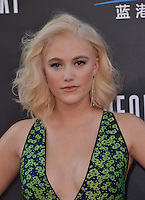 Maika Monroe @ the premiere of 'Independence Day: Resurgence' held @ the Chinese theatre.<br /> June 20, 2016.