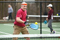 Schenley Park was full of people playing pickle ball, football, soccer, frisbee, and generally exercising on the first day of spring on Thursday March 19, 2020 in Pittsburgh, Pennsylvania. (Photo by Jared Wickerham/Pittsburgh City Paper)